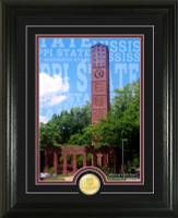 Mississippi State University Campus Traditions Bronze Coin Photo Mint