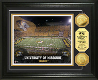 University of Missouri Stadium Gold Coin Photo Mint
