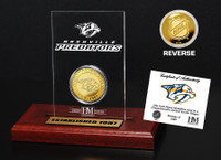 Nashville Predators Etched Acrylic Desktop