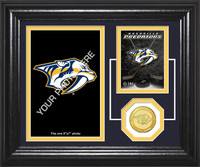 Nashville Predators Fan Memories Bronze Coin Desktop Photo Mint