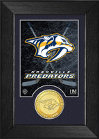 Nashville Predators Bronze Coin Mini Mint