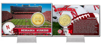 University of Nebraska Bronze Coin Card
