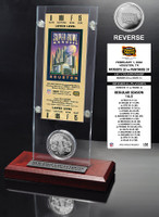 Super Bowl 38 Ticket & Game Coin Collection