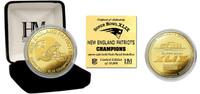 New England Patriots Super BowlxLIX Champions Gold Mint Coin