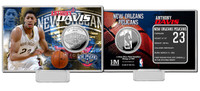 Anthony Davis Silver Coin Card
