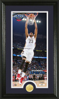 Anthony Davis Bronze Coin Panoramic Photo Mint
