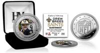 Drew Brees Silver Color Coin