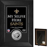 New Orleans Saints Selfie Minted Coin Mini Mint