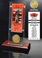 Super Bowl 44 Ticket & Game Coin Collection