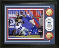 Odell Beckham Jr. TD Catch Gold Coin Photo Mint