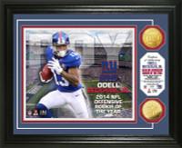 Odell Beckham Jr. 2014 NFL ROY Gold Coin Photo Mint