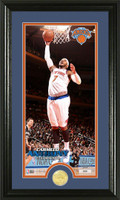 Carmelo Anthony Bronze Coin Panoramic Photo Mint