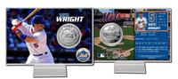 David Wright Silver Coin Card