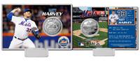 Matt Harvey Silver Coin Card