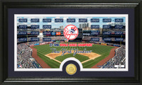 New York Yankees Traditions Bronze Coin Panoramic Photo Mint