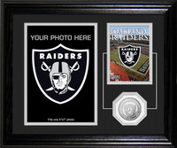 Oakland Raiders Framed Memories Desktop Photo Mint
