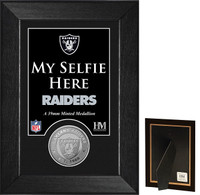 Oakland Raiders Selfie Minted Coin Mini Mint