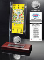 Super Bowl 18 Ticket & Game Coin Collection