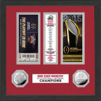 Ohio State Buckeyes 2014 College Football National Champions Minted Coin Ticket Collection