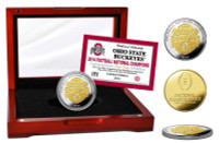 Ohio State Buckeyes 2014 College Football Champions Two-Tone Minted Coin