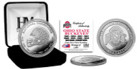 Ohio State Buckeyes 8-Time National Champions Silver Mint Coin