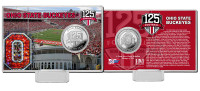 The Ohio State Buckeyes 125th Anniversary Silver Coin Card