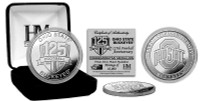 The Ohio State Buckeyes 125th Anniversary Silver Flip Coin