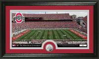 Ohio State Buckeyes Stadium Minted Coin Panoramic Photo Mint