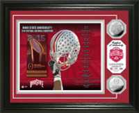 *Ohio State Buckeyes 2014 College Football National Champions Silver Coin Photo Mint