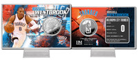 Russell Westbrook Silver Coin Card