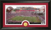 University of Oklahoma Stadium Bronze Coin Panoramic Photo Mint