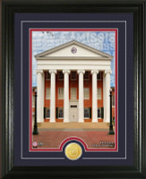 University of Mississippi Campus Traditions Bronze Coin Photo Mint