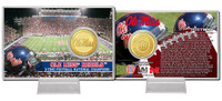 University of Mississippi Bronze Coin Card