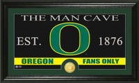 University of Oregon Man Cave Bronze Coin Panoramic Photo Mint