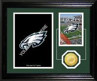 Philadelphia Eagles Framed  Memories Desktop Photo Mint