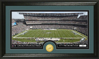 Philadelphia Eagles Stadium Bronze Coin Panoramic Photo Mint