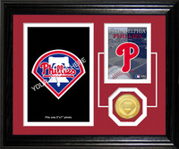 Philadelphia Phillies Fan Memories Photo Mint