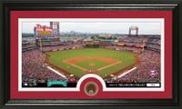 Philadelphia Phillies Infield Dirt Coin Panoramic Photo Mint