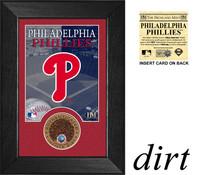 Philadelphia Phillies Infield Dirt Coin Mini Mint