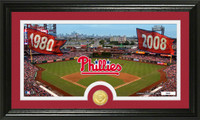 Philadelphia Phillies Traditions Bronze Coin Panoramic Photo Mint