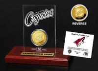 Phoenix Coyotes Etched Acrylic Desktop