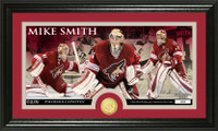 Mike Smith Bronze Coin Panoramic Photo Mint