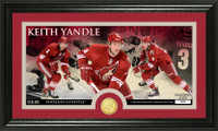 Keith Yandle Bronze Coin Panoramic Photo Mint