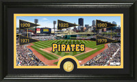 Pittsburgh Pirates Traditions Bronze Coin Panoramic Photo Mint