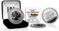 Ben Roethlisberger Silver Color Coin