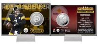 Ben Roethlisberger Silver Coin Card