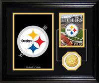 Pittsburgh Steelers Framed Memories Desktop Photo Mint