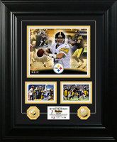 Ben Roethlisberger Marquee Gold Coin Photo Mint