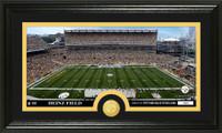 Pittsburgh Steelers Stadium Bronze Coin Panoramic Photo Mint