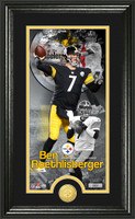 Ben Roethlisberger Supreme Bronze Coin Panoramic Photo Mint